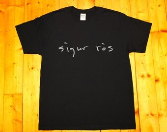 Sigur Rós, Sigur Ros - screen printed T-shirt