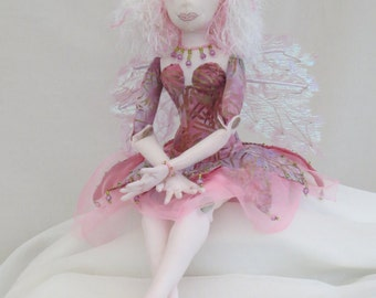fairy ooak cloth doll