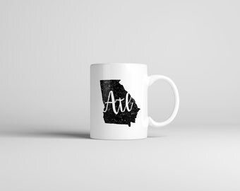 Atlanta Mug // ATL // Georgia Mug // Hometown Mug // Gift For Her // Gift For Him // The Busy Bee