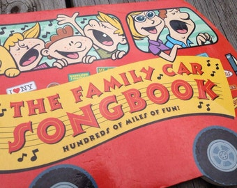 The Family Car Songbook, Songs for Kids, Vintage Songbook