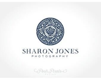Logo Design (Premade) Elegant Logo, Circle Logo, Mandala Logo, Luxury Logo, Photography Logo, Business Logo