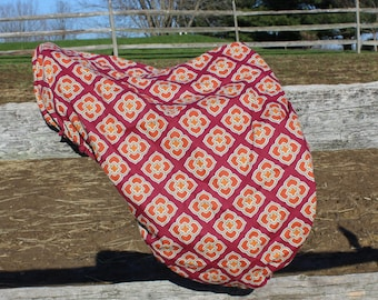English Saddle Cover-Dressage-Close Contact-All Purpose-One of a Kind