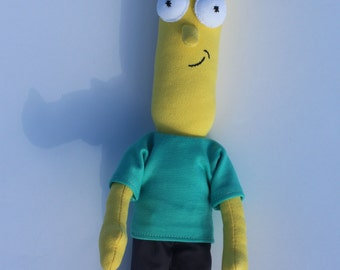 "Rick and Morty, Poopybutthole, mr Poopybutthole, Doll from ""Rick and Morty"" / Mr. PB / Plush"