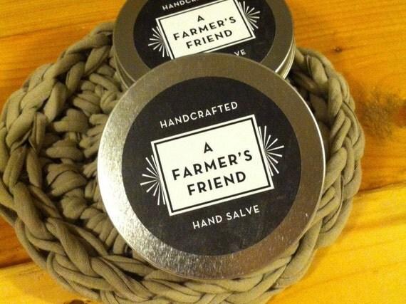 Farmer's Friend Salve 4 oz, Hands, Face, Body Skin Issues