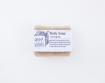 Lemongrass Soap -All Natural Soap, Handmade Soap, Kitchen Soap, Vegan Soap
