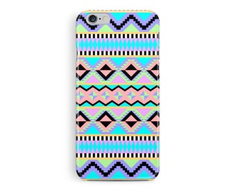 Boho iPhone 8 case, iPhone X case, iPhone 8 Plus case, hipster iPhone x case, aztec iphone cover, tribal phone case, zig zag phone cover
