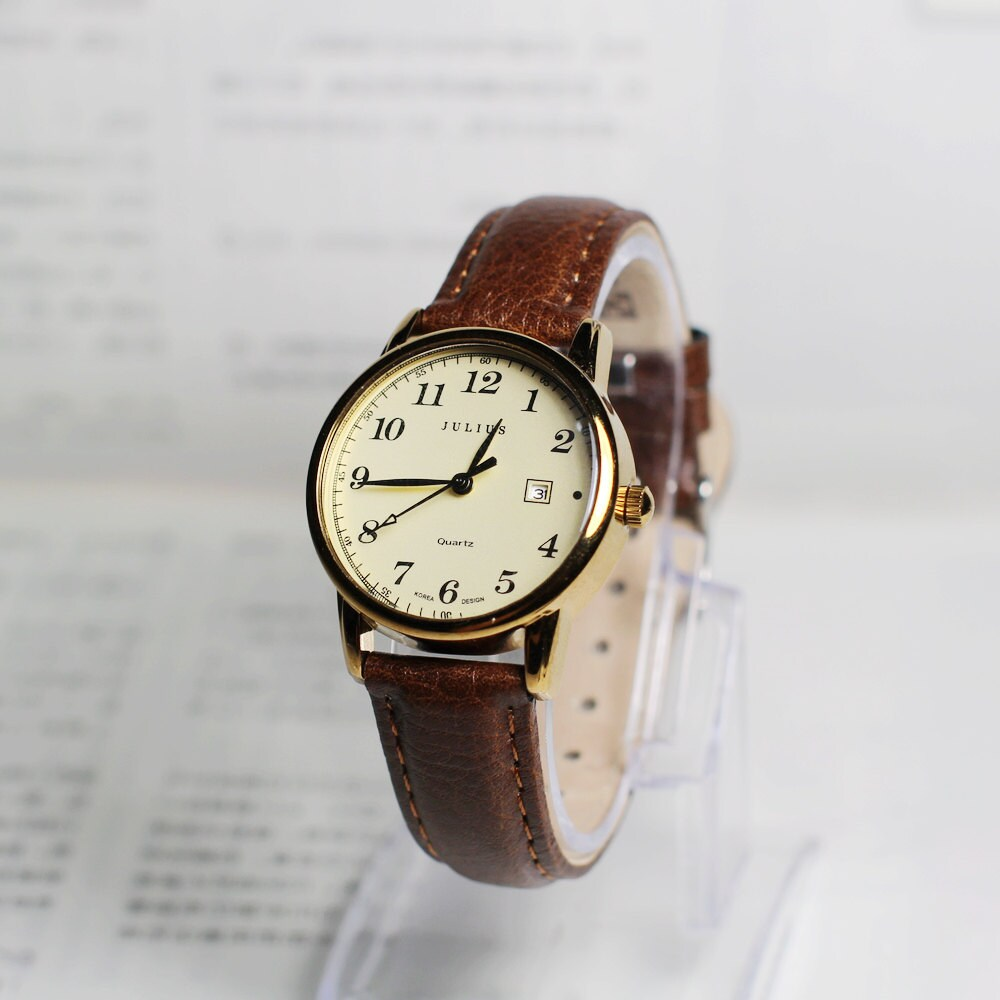 Couples watchWrist watch Women Watch Leather Watch