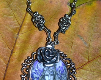 Necklace - Forest queen and roses