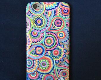 """iPhone 6/6S case """"Paisley Fleur"""""""