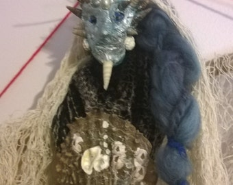 Guardian of The Sea Mer/Person Sacred Spirit Doll