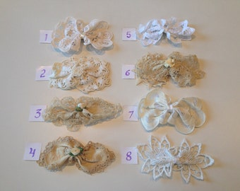 Lace Doily Bow