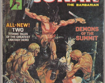 Savage Sword of Conan; Vol 1, 3, Bronze Age Comic Book. VG-. December 1974.  Curtis Magazine (Marvel Comics)