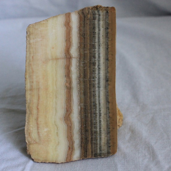 Yellow Onyx Slab For Lapidary : Inches utah onyx slab for lapidary cabochon