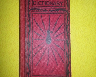 Antique 1902 Fredrick J Jake and Co. Chicago Complete Handy Electrical Educational Pocket Dictionary RARE