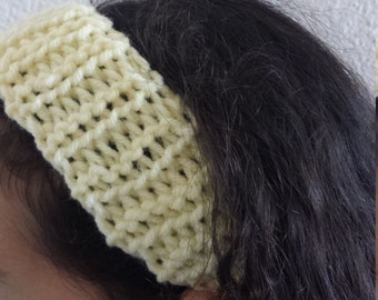 Girls Crochet Headband (Choose a color)