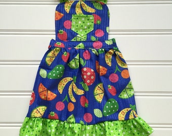 Apron for Kids, Toddler Apron, Cooking Apron, Cute Apron, Children's Apron, Kitchen Apron, Girl Apron, Childs Apron, Kids Apron