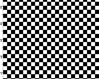 Black & White Checkerboard Fabric, Maywood Studio Just Be Claus 8627 JW, Robin Kingsley, Black Check Quilt Fabric, Cotton
