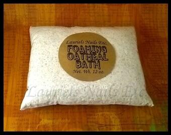 Oatmeal Bath, Foaming Oatmeal Bath, Oatmeal Milk Bath, Foaming Bath Powder, Bath Salts, Bath Powder, Milk Bath, Oatmeal, Bath & Beauty,