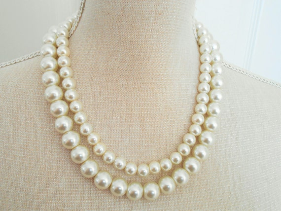 Wedding Gift Necklace : pearl necklace, Wedding necklace, Bridesmaid gift, Bridesmaid necklace ...