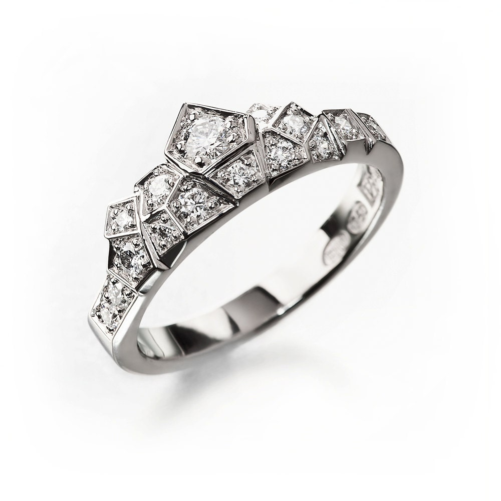 Unique Wedding Rings: Unique Engagement Ring Alternative Engagement Ring