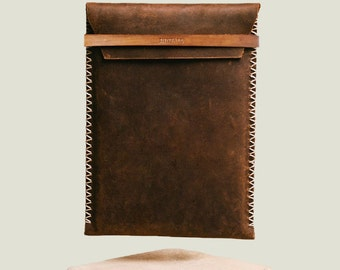 Handmade leather IPAD CASE – GLOMMA