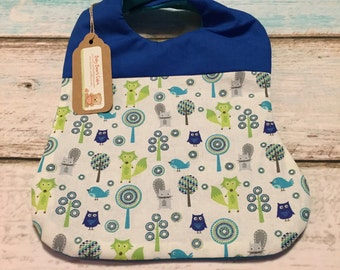 Woodland Friends Bib