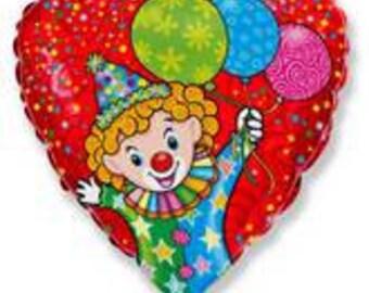 """18"""" Happy Clown Balloon"""