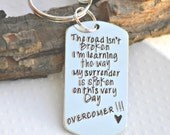 Encouragement Gift - addiction recovery - Divorced - Recovery Jewelry - Eating Disorder Recovery Jewelry - Celebrate Recovery- Faith- spirit