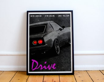 Drive - Ryan Gosling - Movie Print - Poster - (Available In Many Sizes)