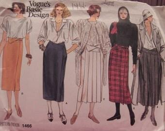 Vintage Pattern: Vogue's Basic Design - 1466, Size 16