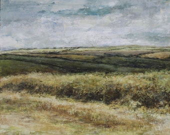 Yorkshire Dales  Summer Fields Signed Limited Edition Landscape Print from Original Oil Landscape Painting