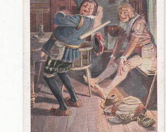 Early Brothers Grimm Fairy Tale Postcard, Ome Of Twenty In Collection,Lovely Color