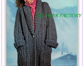 Knitting Patterns For Sweater Coats : Womens sweater coats Etsy