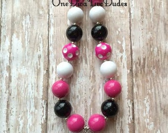 Monster High Draculaura chunky necklace