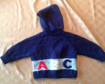 Baby Sweater - ABC - 6-18 months