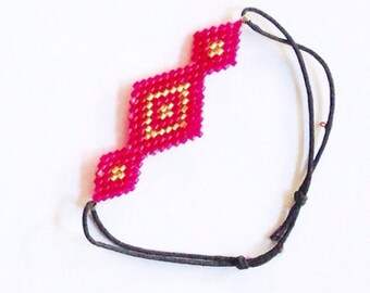 Handmade bracelet with beads - pick your colors!