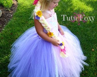 Rapunzel Hair, Princess Hair, Rapunzel Yarn Hair, princess hair, rapunzel birthday, yarn hair braid, yarn braid