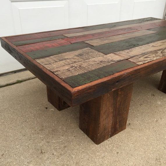 Reclaimed Barn Wood Coffee Table. This Is Beautiful Rustic