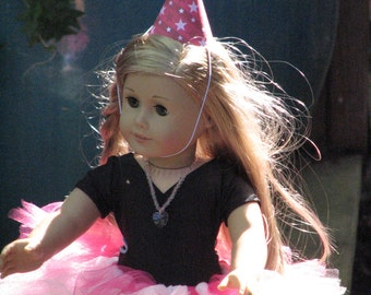 6 American Girl Doll Themed Doll Party Hats