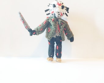Knit Jason Voorhees Friday The 13th Horror Character