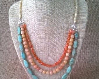 Long Bib Necklace