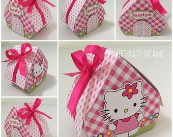 Hello Kitty favor box party 6PC