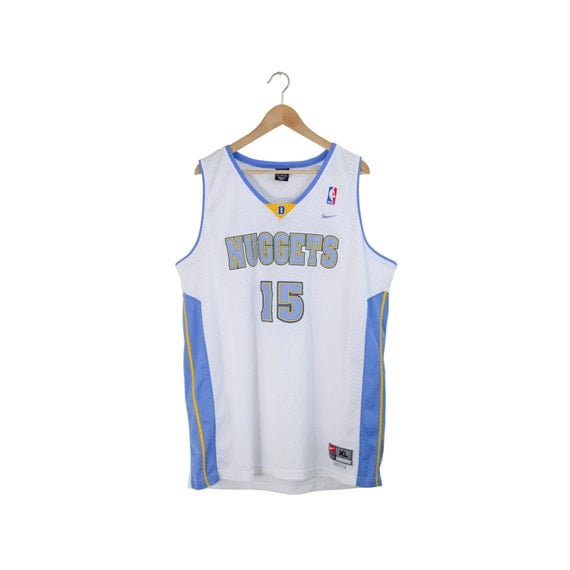 Denver Nuggets White Jersey: CARMELO ANTHONY JERSEY / Denver Nuggets Jersey / Nike Jersey