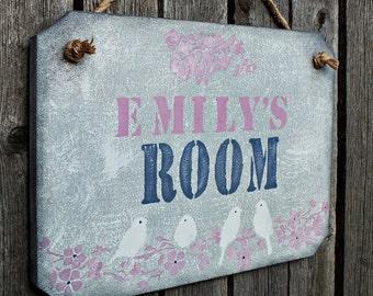 Custom name room sign Kids door plaque Girls bedroom Personalized sign Girls room door sign baby & Door plaque | Etsy pezcame.com