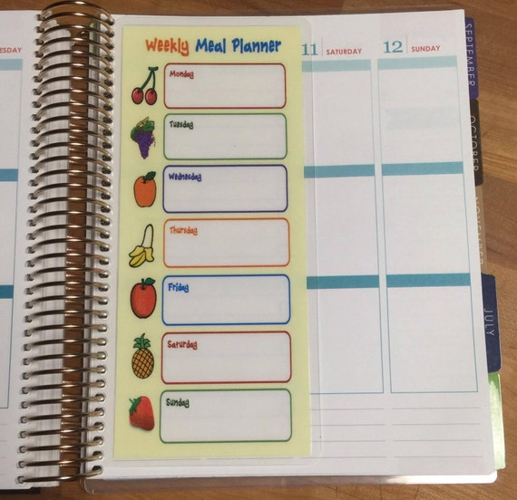 Dashboard short weekly meal planner for use with erin for What is a planner dashboard