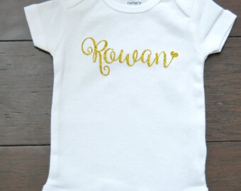 Custom Baby Outfit - Custom Name Outfit - Personalized Baby Outfit - Custom baby bodysuit - Funny Baby clothes
