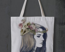 Lana Del Rey Canvas Tote Bag One size Only