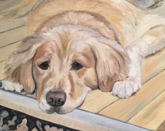 Custom Pet Portrait- 11x14