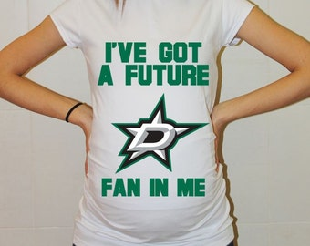 Dallas Stars Baby Dallas Stars Baby Boy Baby Girl Maternity Shirt Maternity Clothing Pregnancy New Baby Shower