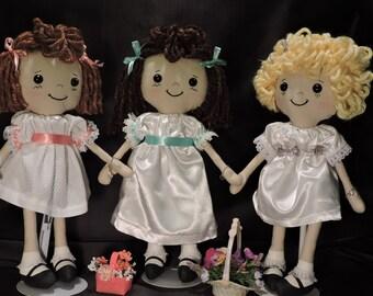 Flower Girl Gift / Flower Girl Doll